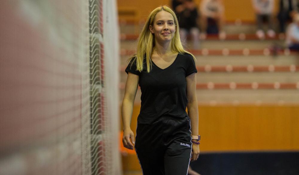 Eliška Kuchtová: Věci, co se naučím ve škole, zkouším v praxi na trénincích